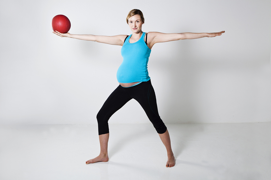 Pregnant Woman Exercise 109