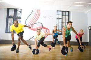 SandBells class at Fitness First