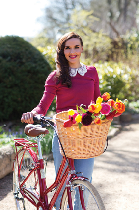 Victoria Pendleton has designed a range of bikes for Halfords