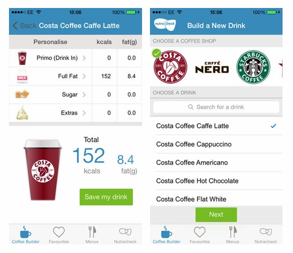... know how many calories in that Frapaccino? New app helps - Healthista