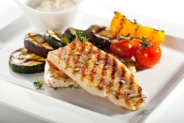Anti aging body plan week 9 healthista for How to grill fish fillet