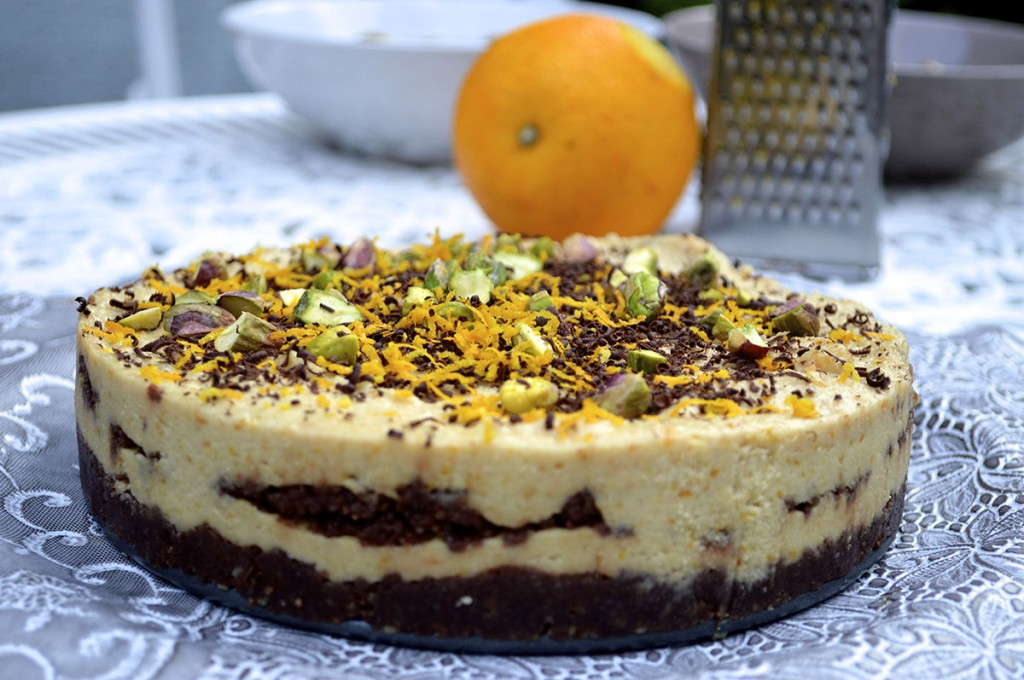 chocolate orange cheat cake paleo