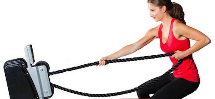 endless rope machine workout