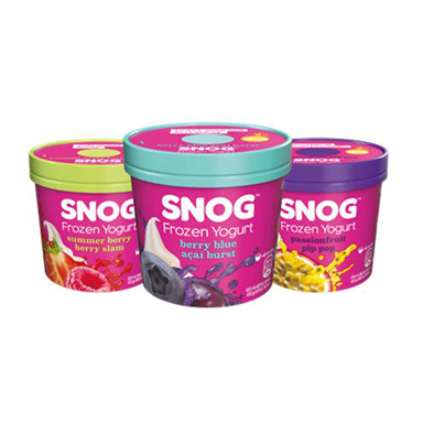 Snog pots, Snog frozen yoghurt, by Healthista.com
