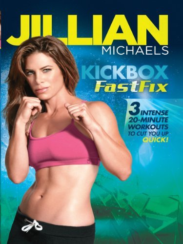 Best Workout Dvds Jillian Michaels Kickboxing Fast Fix By Healthista Com