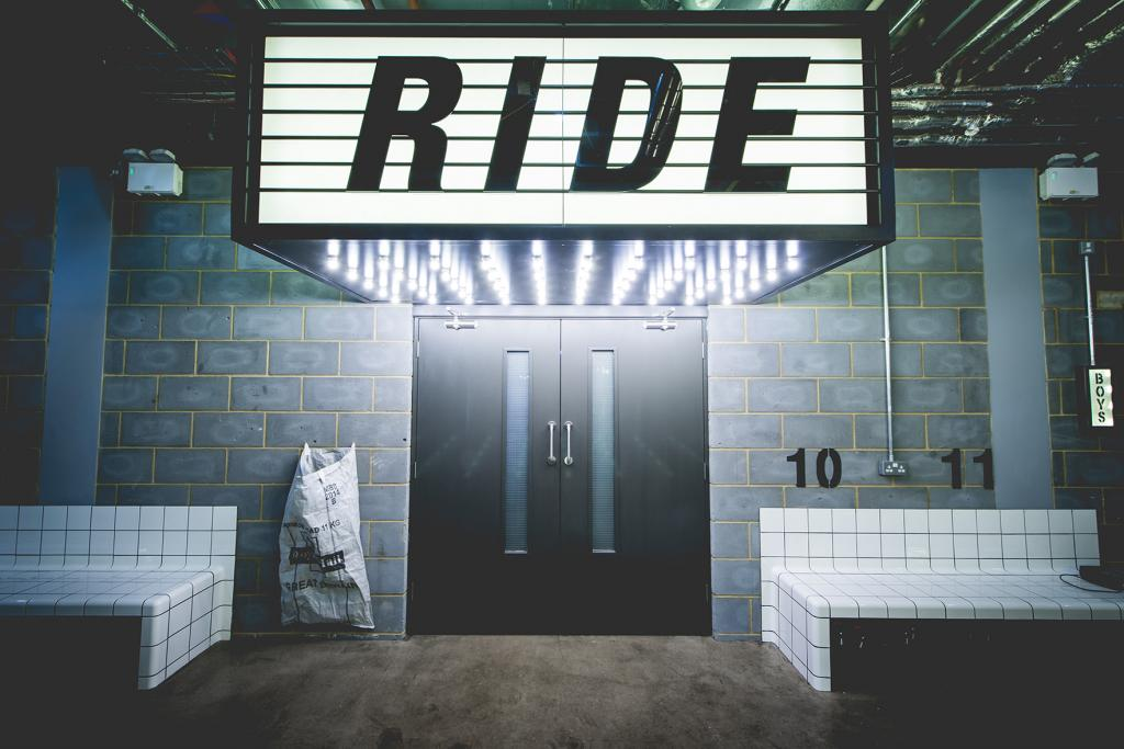 1Rebel spinning Ride studio sign london review