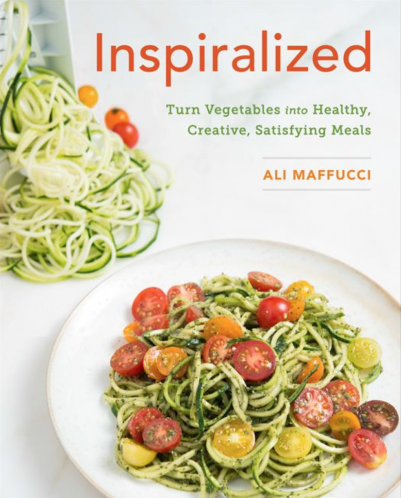 inspiralized book cover, best healthy cookbooks of the year by healthista.com