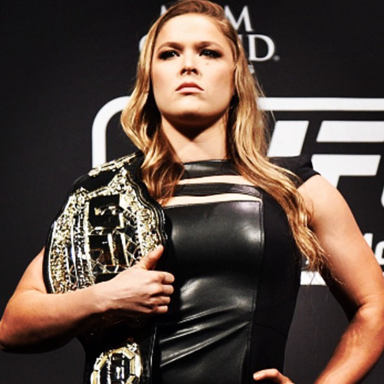 ronda rousey belt, women and boxing by healthista.com
