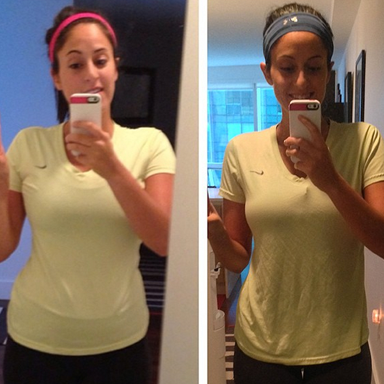ali mafucci before and after, how i lost 25 pounds by spiralizing by healthista.com