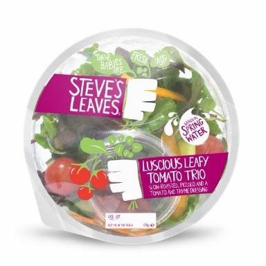 speedy steves leaves: the simplest salad around