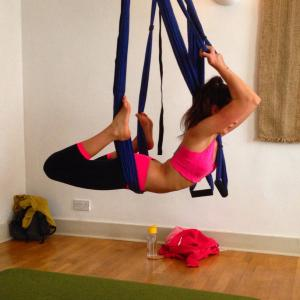 REVIEWED: Aerial yoga - the exhilarating new yoga class ...