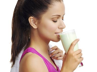 protein shake sport and fitness