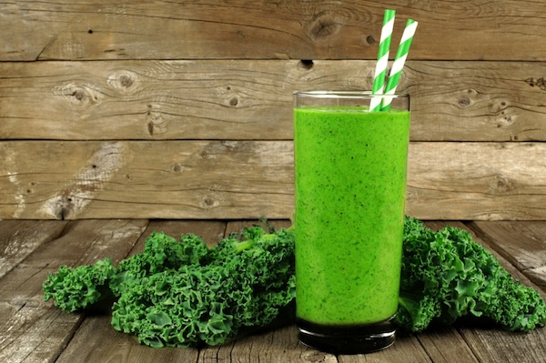 Lunch Replacement Sweet Green Kale Dream Smoothie Weight Loss