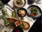 sample dish menu from redemption first vegan and non alcoholic bar in london by healthista