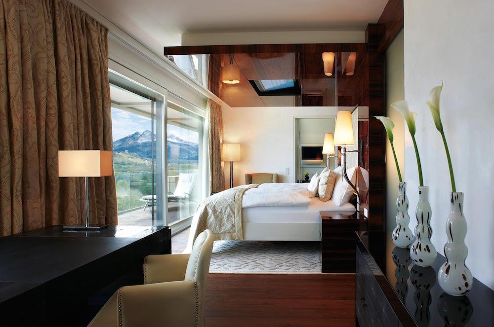 spa suite bedroom spa bath by