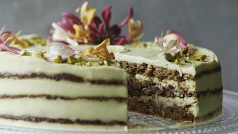 Gluten Free Pistachio Cake Recipe