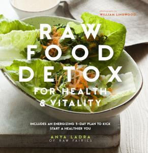 3 raw food recipes that arent salad healthista raw food detox book jacket 3 raw food forumfinder Images