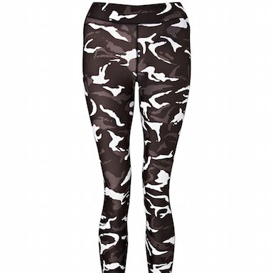 gym leggings active in style grey camo print by healthista