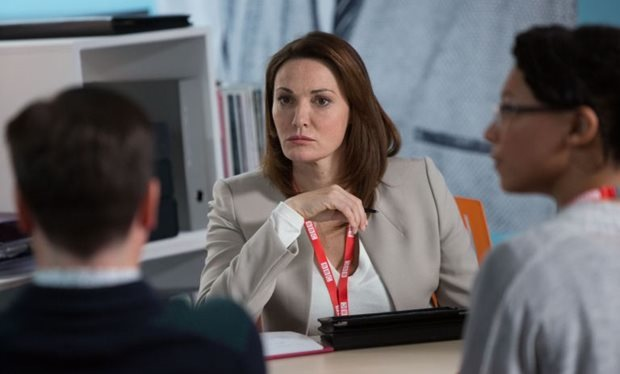 Sarah Parish still in w1a, by healthista.com