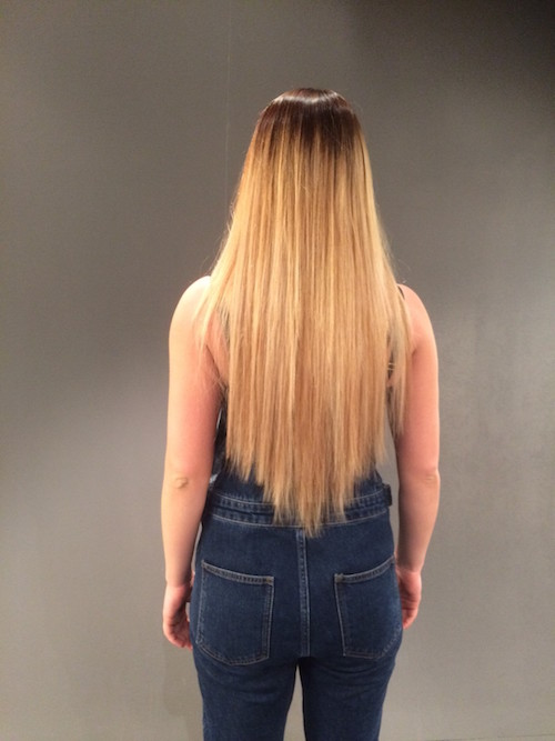 after Tape in Hair Extensions - The newest and most affordable hair extensions loved by Khloe Kardashian