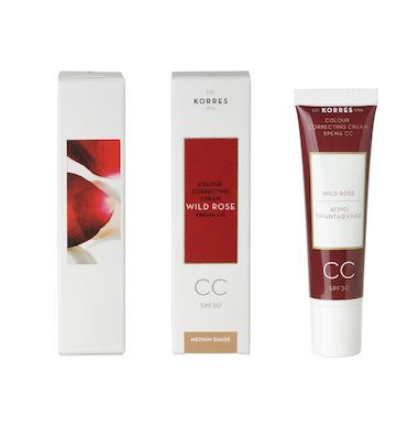 Korres Wild Rose CC Cream Medium Shade