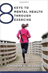 book cover, 8 proven ways exercise makes you happier, by healthista.com