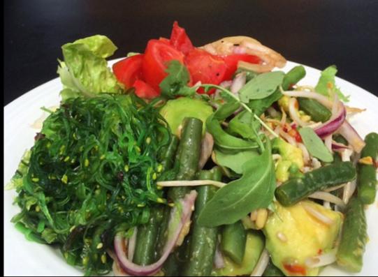 wakame seaweed salad ibiza luxury villas by healthista