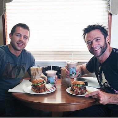 David & Hugh Jackman, how to lose weight David Kingsbury, by healthista.com