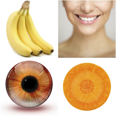 foods that look like the body part they're good for, by healthista