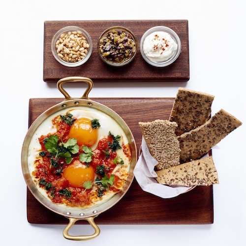 Shashuka, best healthy restaurants in London, by healthista.com