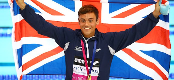 Tom Daley, 5 healthy life hacks from Tom Daley by Healthista