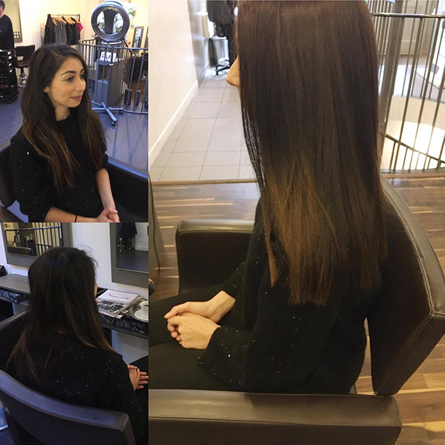 hair before and after, Healthista reviews a vegan-friendly salon, plus THE hair trend to look out for in 2017 by healthista