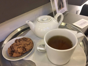 tea and biscuits, Healthista reviews a vegan-friendly salon, plus THE hair trend to look out for in 2017