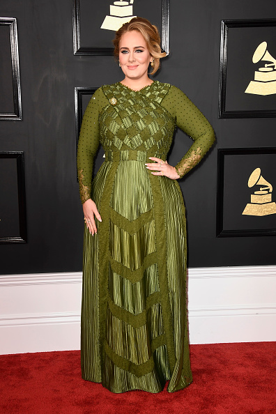 Adele, Best Grammy Bodies 2017, by healthista