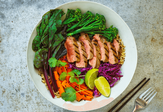 4 dinner bowl recipes all under 600 calories healthista forumfinder Gallery