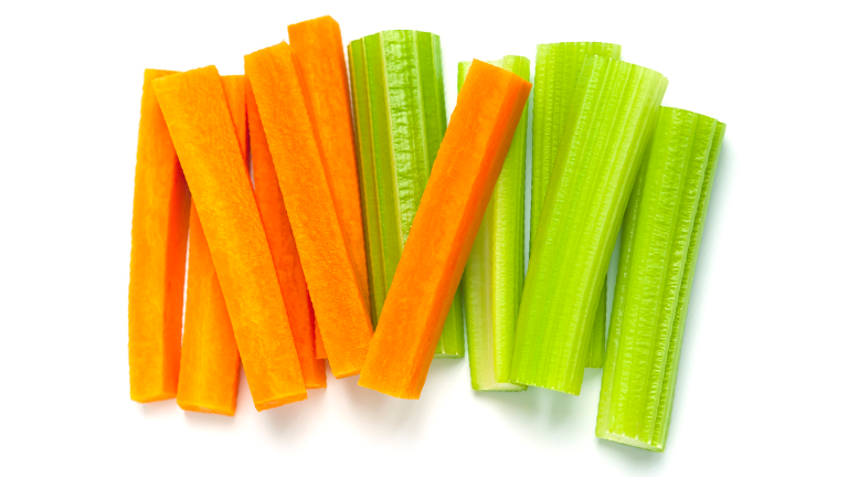 carrots and celery, what to eat for better skin by healthista.com