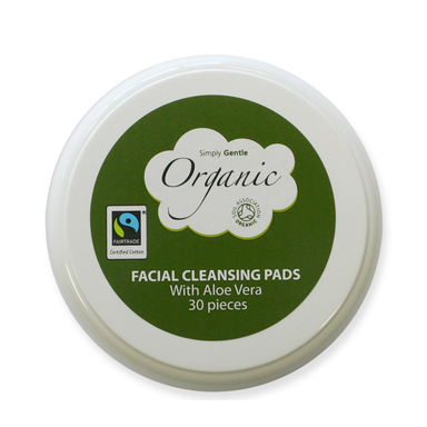 organic cotton cleansing pads for product slider, 6 best fairtrade beauty buys by healthista