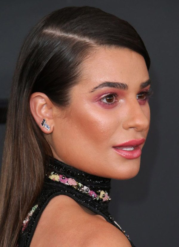 Lea Michele's red carpet makeup artist reveals how to do the hot trend 'pink eye'