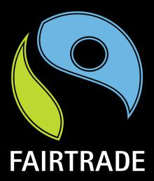 fairtrade symbol, best fairtrade foods cupboard essentials, by healthista.com