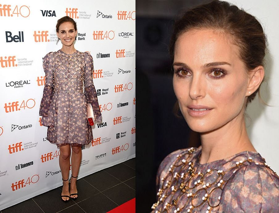 natalie portman, 3 red carpet beauty looks The make-up artist reveals how-to, by healthista.com