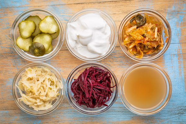 Good bacteria is found in fermented foods such as yoghurt, sauerkraut and kimchi