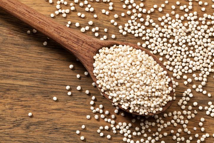 quinoa, 8 best fat burning foods by healthista