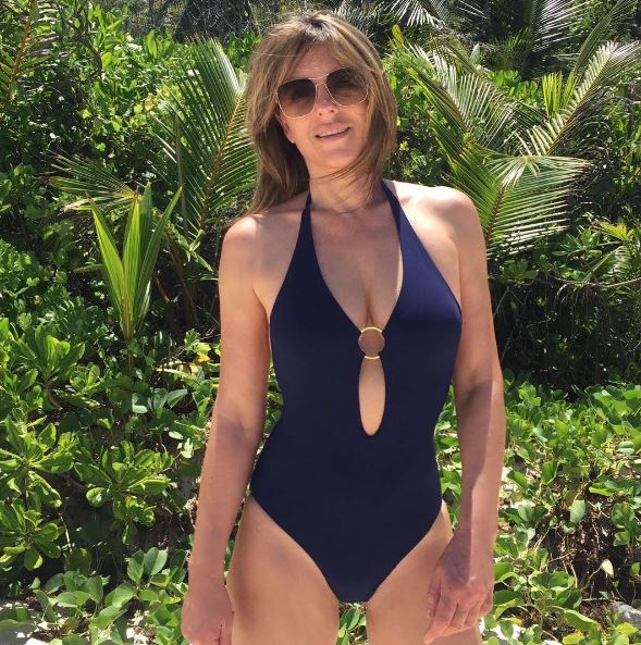elizabeth hurley, 50 is the new 25 - celebrities looking hotter than ever (10)