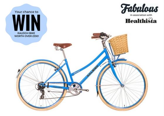 fabulous magazine healthista giveaway raleigh bike