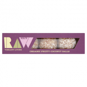 raw health coconut balls, best raw snacks by healthista