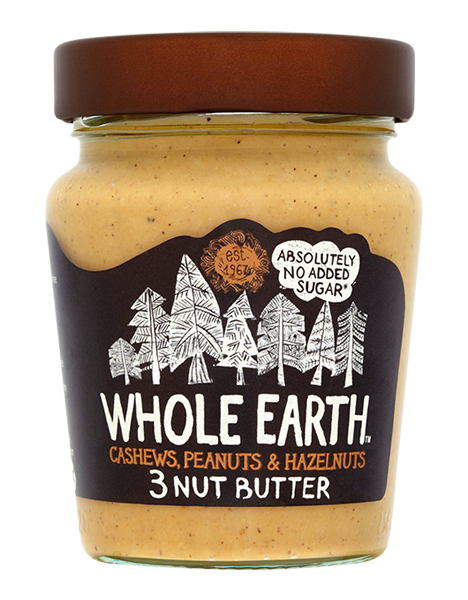 whole earth cashew butter, best nut butters by healthista
