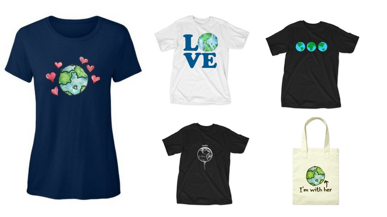 win earth day tshirt teespring healthista group