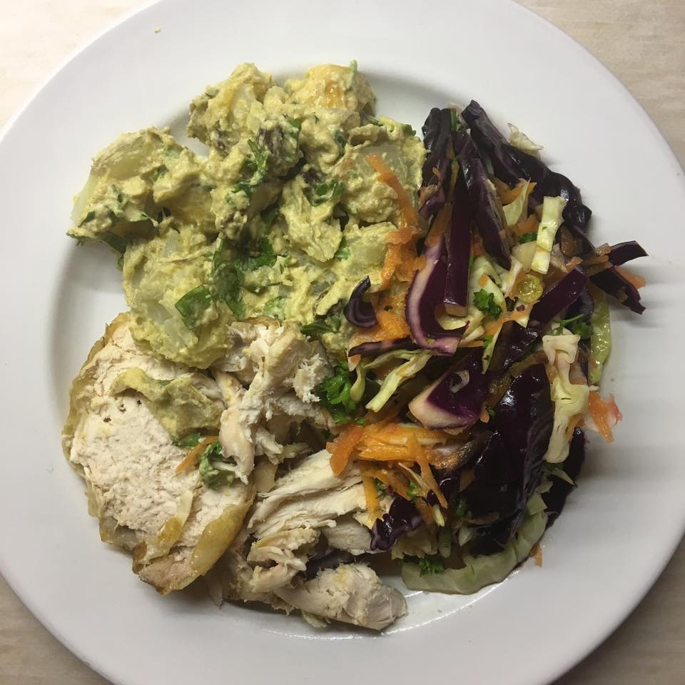 10 Healthy Ways To Cook With Potatoes: How To Cook Healthy For Beginners: Coronation Potato Salad