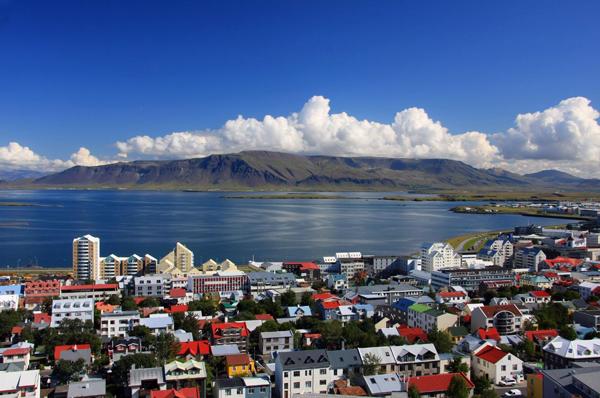 Iceland Downtown Reykjavik small