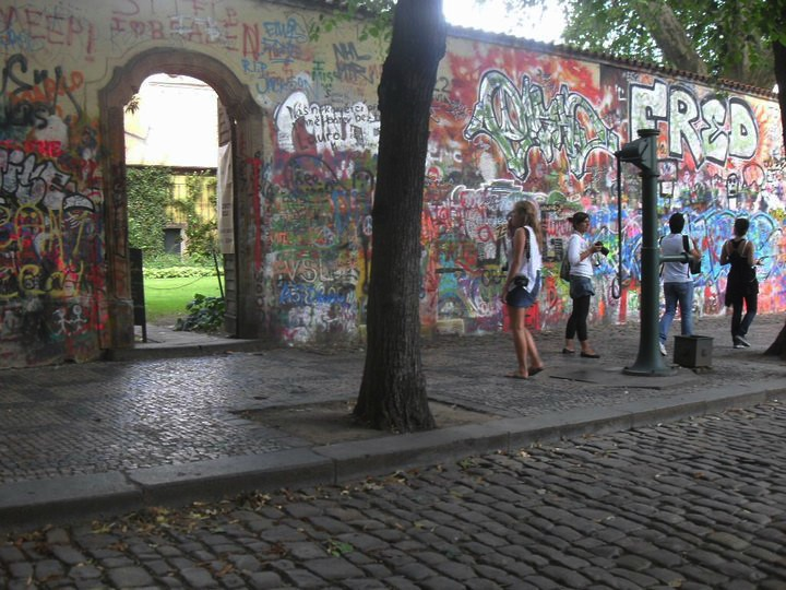 Prague John Lennon Wall III